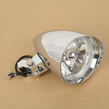 """Motorcycle 4.5"""" Head Light Headlight Lamp For Harley Sportster Dyna Softail Bobber Chopper Cruiser Custom"""