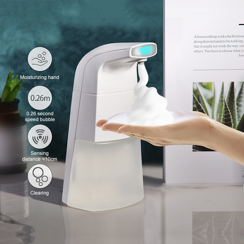 Intelligent Automatic Soap Dispenser With Hand Cleaning Effervescent Tablets Household Hands-free Non-contact Disinfectant