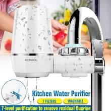 Torneiras de água da cozinha filtro lavável cerâmica montagem torneira purificador de água filtrar ferrugem bactérias remoção substituição filtro