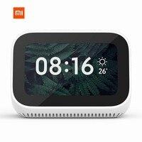 In Stock Xiaomi AI Touch Screen Bluetooth 5.0 Speaker Digital Display Alarm Clock WiFi Smart Connection Speaker Mi speaker