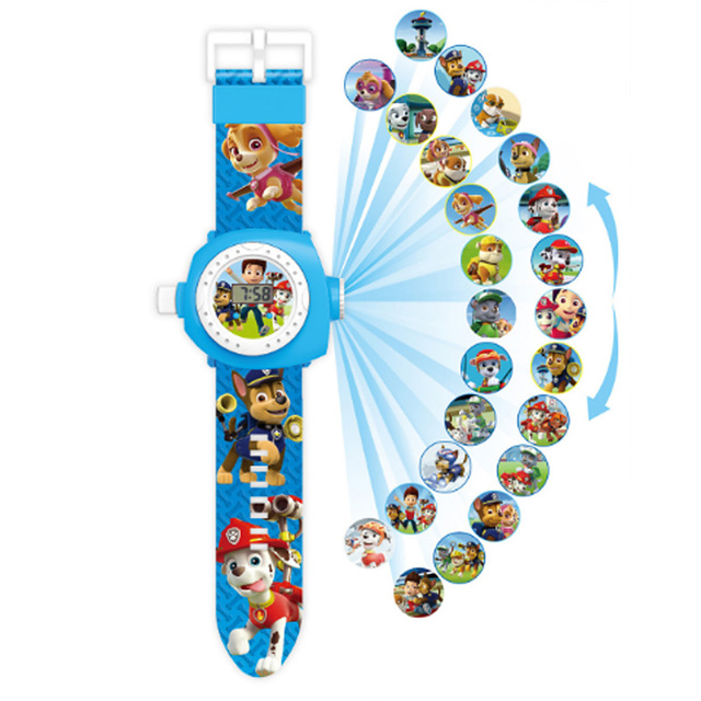 Paw patrol toys set 3D Projection watch Birthday Gift 1