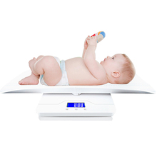 Multi-Function Digital Baby Pet Weight Scale Auto Hold KG/OZ/LB Tare Function Measuring Range 10g~100Kg Automatic Zero Resetting