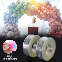Balloon Strip Tape Arch Party-Connect Plastic Wedding 10M Chain Double-Hole-Buckle