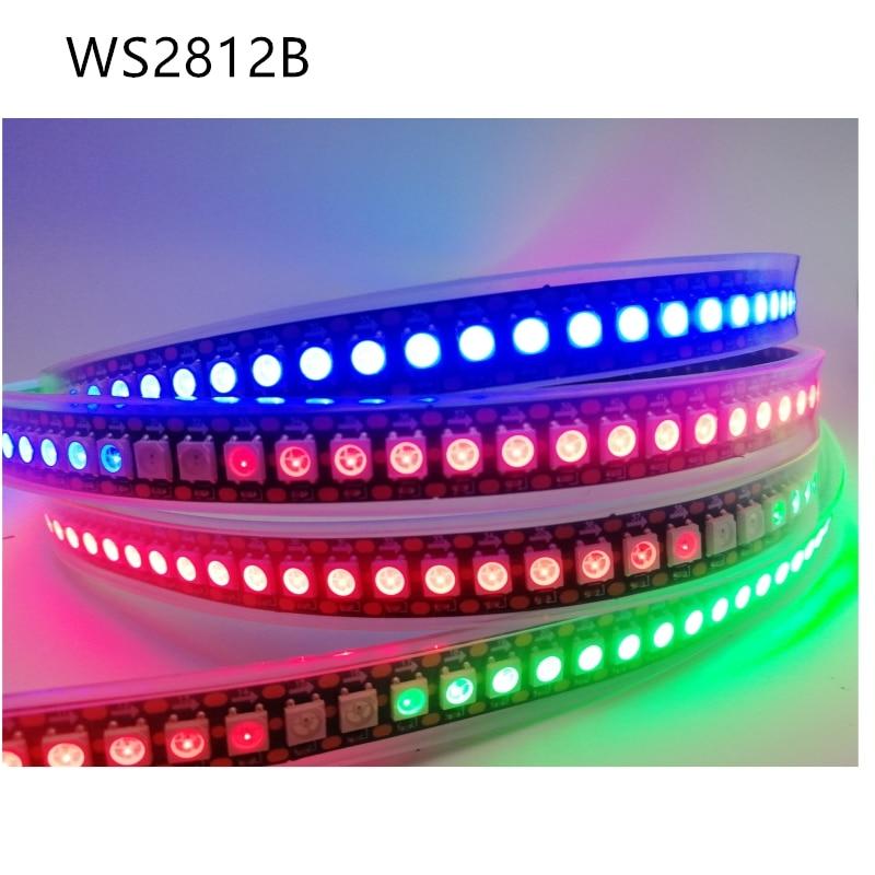 1m 2m 3m 5m WS2812B LED Strip Individually Addressable Led Light Strip Neon Smart Pixels Led Lights DC 5V IP30 65 67
