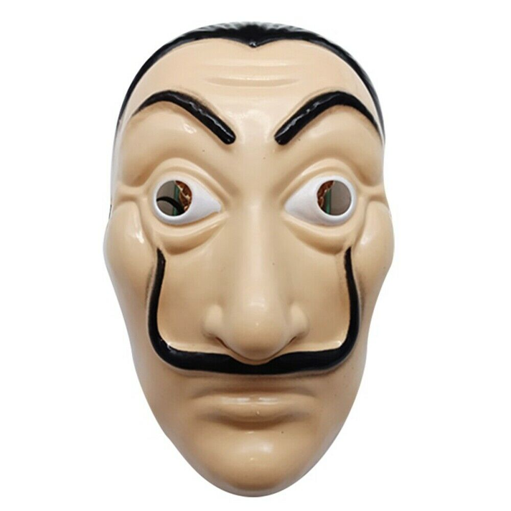 Salvador Dali Mask Money Heist The House Of Paper La Casa De Papel Mask Cosplay Costume Props Adult Kids Halloween Dali Mask