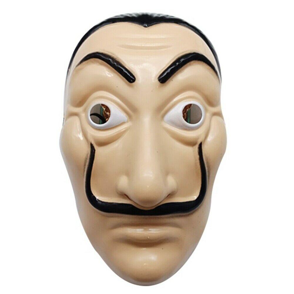 Salvador Dali Mask Money Heist The House Of Paper La Casa De Papel Mask Cosplay Costume Props Adult Kids Halloween Dali Mask