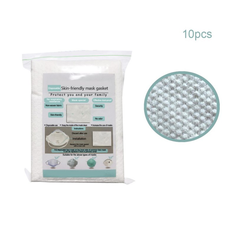 10/20/50pcs Air Mask Fiters Anti Dustproof Filter Disposable Mask Pad PM2.5 Masks Protective Breathable Replaceable Filter 1