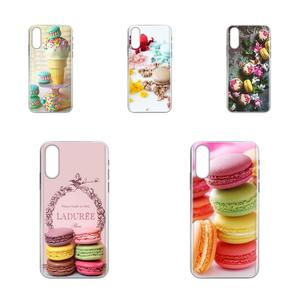 Dessert Ice Cream Laduree Macarons For Galaxy A81 A71 A51 A01 S11 S20 Plus Ultra Note 10 Lite M60s M30S A70 A50 A20E A10S