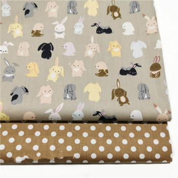 Printed Dog Cotton Fabric Baby 100% cotton fabrics for DIY Sewing textile tecido tissue patchwork bedding quilting 100x160cm pure cotton fabric cloth for baby bed sheet patchwork quilting twill bedding cartoon fabrics diy dolls sewing textile