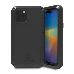 Image 4 - Love Mei Metal Case For iPhone 11 Pro Max Rugged Armor Cover Coque For iPhone 11 Pro Max Shockproof Phone Case Anti Fall Fundas
