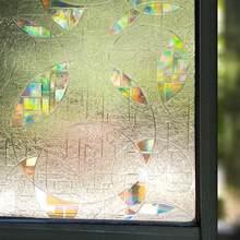 Filme de janela 3d privacidade decorativa estática adere a etiqueta da janela de vidro não-adesivo nenhuma cola controle de calor anti uv luz de bloqueio