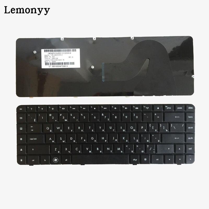 Clavier russe pour HP Compaq Presario 56 62 CQ56 G56 CQ62 G62 RU Noir AEAX6U00210 clavier 9Z. N4SSQ. 001 AEAX6U00110