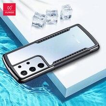 غلاف هاتف خلوي مقاوم للصدمات ، جراب غير لامع لهاتف Samsung Galaxy S21 S21 Plus Xundd