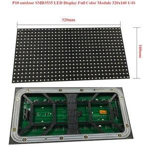 Image 3 - Grand panneau daffichage publicitaire P10mm module prix polychrome 320x160mm SMD3535 affichage LED extérieur/écran LED/mur vidéo LED
