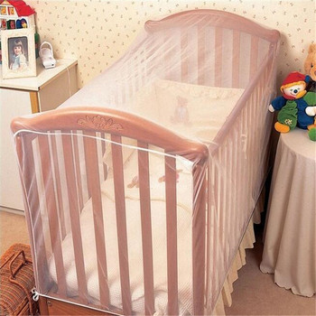 Baby Crib Cot Insect Mosquitoes Wasps Flies Net For Infant Bed Folding Crib Netting Child Baby Mosquito Nets Crib Netting