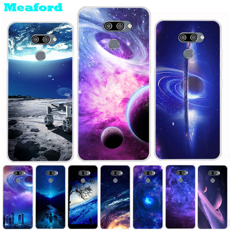 Silicone Case For LG Q60 Case Soft Print Back Cover For LG K50 TPU Case K 50 Space Coque fundas for LG Q60 LGQ60 LGK50 Bumper