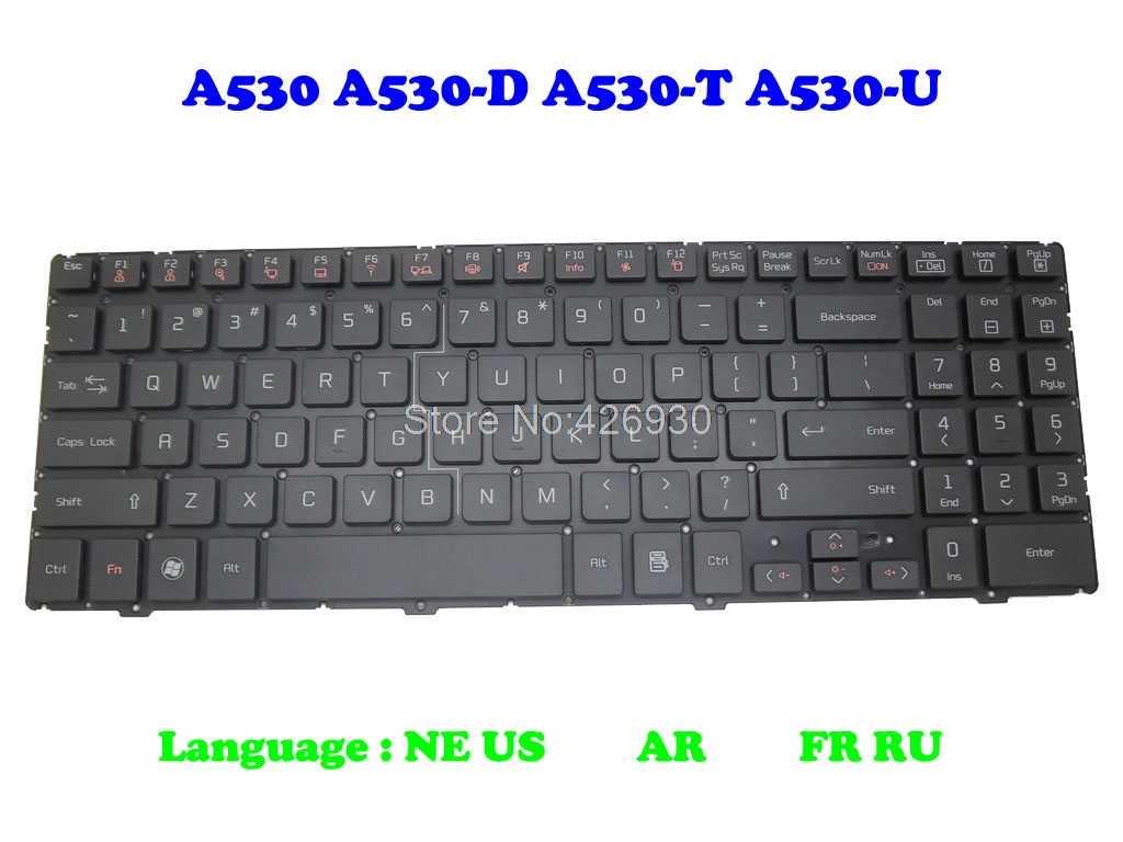 FR RU клавиатура для LG A530 A530-D A530-T QLM 2B-03002Q100 AEQLMK00010 2B-03040Q100 AEQLMW00010 2B-03005Q100 AEQLMY00010