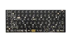 Image 5 - Xd84pro XD84 pro Personalizzato Tastiera Meccanica Kit 75% Supporta TKG TOOLS Supporto Underglow RGB PCB programmato gh84 kle di tipo c