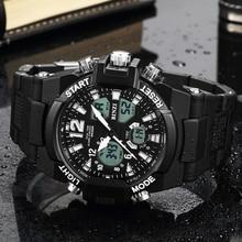 цена Electronic Men Watches LED Military Men Sport Luxury Digital Shock Watch Male Clock Outdoor Waterproof Big Face Running Watch онлайн в 2017 году