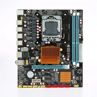 X58 1366 Teaching Durable DDR3 Desktop Motherboard Set ECC Memory CPU Single Accessories Home Replacement Dual Channel Stable