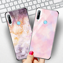 For Huawei P30 Lite P40 P20 Pro Case Tempered Glass PC Silicone Cover For Huawei P Smart Z Plus 2019 Mate 20 Lite 10 30 Covers for huawei p30 pro magnetic case 360 double sided tempered glass case for huawei mate 20 pro p20 pro p smart z metal bumper case