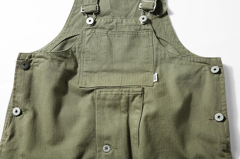 KIOVNO Fashion Men Hip Hop Bib Overalls Multi Pockets Cargo Work Streetwear Jumpsuits For Male Loose Pants (8)