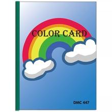 Full Square/Round Drill 5D Diamond Painting Tool Range 447 DMC Color Card Rhinestone Identification