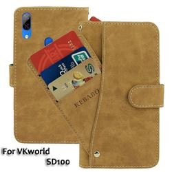 На Алиэкспресс купить чехол для смартфона leather wallet vkworld sd100 case 6дюйм. flip fashion luxury front card slots cases cover business magnetic phone bags