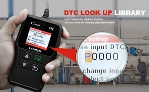 Image 3 - Launch X431 Creader 319 OBD2 Scanner obd 2 Car Diagnostic Tool CR319 Auto ODB Code Reader Car Scan Tools PK ELM327 OM123 AD310