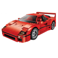 Technic  New  F40 Sports Car MOC Set   F40 Enzo Sport Model Building Blocks Kits Bricks Toys with DIY|Blocks|   -