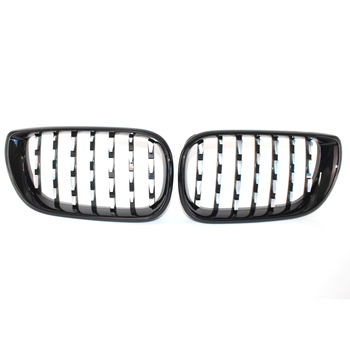 Car Chrome+Black Front Grille Diamond Metero style Grill For BMW E46 E46 3 Series 320i 325i 330i 330xi 325xi Facelift 4D 02-05​