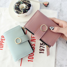 Women Wallets Small Fashion Brand Leather Purse Wom