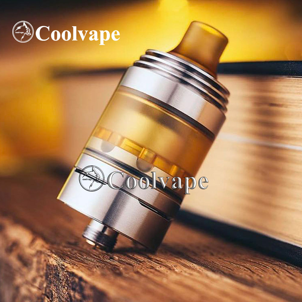 Coolvape The Hussar RTA V1.5 316ss Material 22mm Bottom Airflow Adjustable Control Top Filling Atomizer Vs Destiny RTA
