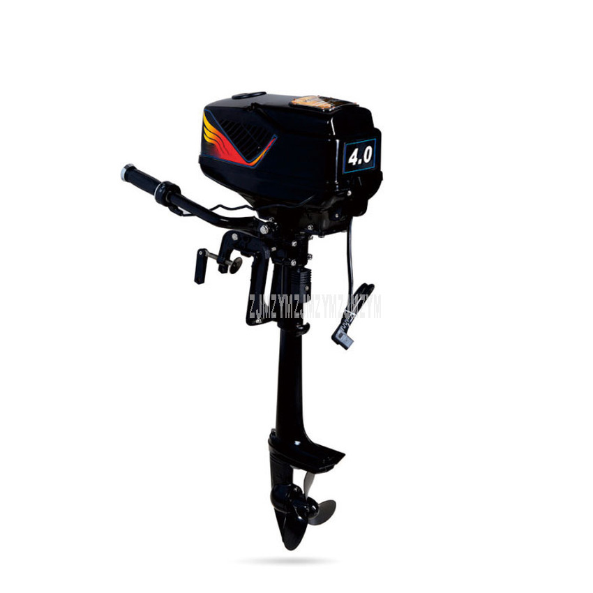 48V Electric Fishing Boat Engine Outboard Motor Propeller Inflatable Boat Engine 3.6/4.0/5.0 Horsepower Brushless Outboard Motor