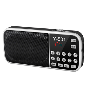Image 2 - New Hot Portable Radio High Power MP3 Player Digital Audio Music Player with LED Flashlight