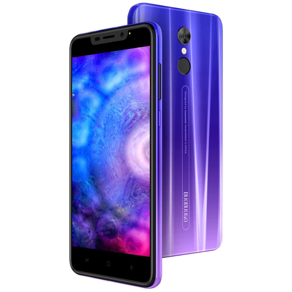 Téléphone portable DUODUOGO G55 Android 9.0 3GB RAM 16GB ROM 13MP + 5MP 5.5