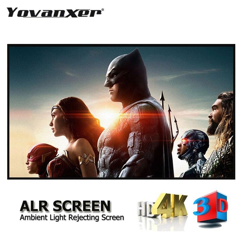 Окружающего светильник отклонения ALR проектор Экран * 80*90