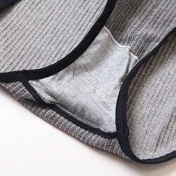 Модный бюстгальтер, трусы, набор для женщин, нижнее белье с подушечками, бесшовный бюстгальтер пуш-ап, Активный бюстгальтер размера плюс XL, С... 6