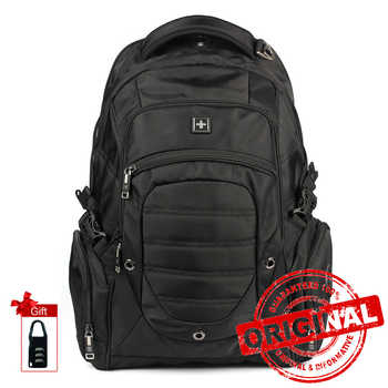 Lightweight Laptop Backpack 15.6-17.3 Inch Water Repellent Travel Backpacks Computer Book bag College Men Wome SW9275i - DISCOUNT ITEM  44 OFF Luggage & Bags