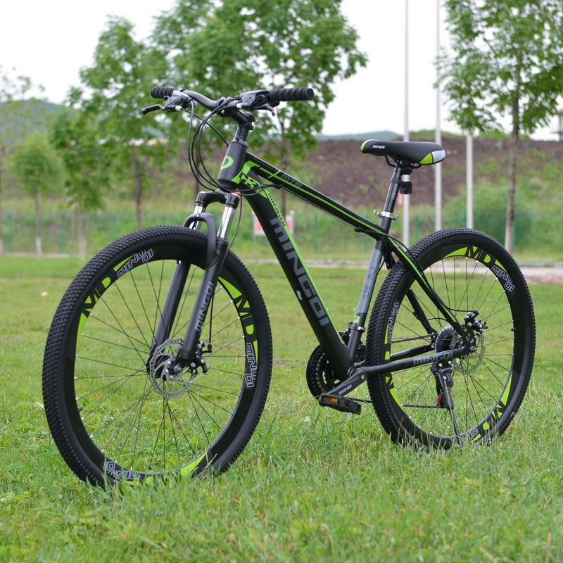 GMINDI Велосипед 29 дюймов Велосипед Углеродистая сталь Рама горного велосипеда 19 Велосипед для взрослых с переменной скоростью, 21 скорость, му...