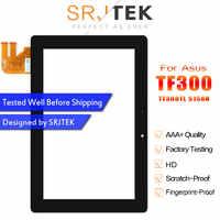 Srjtek táctil pantalla para Asus Transformer Pad TF300 TF300T TF300TG TF300TL 5158N FPC-1 Panel de cristal digitalizador con Sensor de repuesto