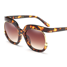 Fashion Brand Designer Sunglasses Men Woman Gig Round Colour Sun Glasses de sol high quality With box 92104