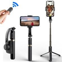 Roreta handheld cardan estabilizador bluetooth selfie monopod titular para smartphone telefone gravação de vídeo ao vivo