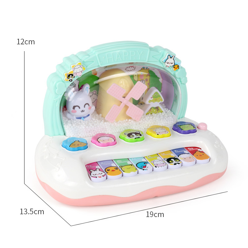 Children Music 0-1-3-a Year Of Age Baby ENLIGHTEN 6-12 Month Women's Infant Educational Force Toy Plastic Unisex