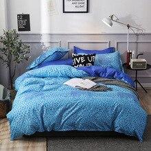 Bedding three sets/four sets of full-size dense bedding duvet cover comforter Sheet&Pillowcase & Duvet Cover Sets