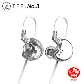 TFZ No.3 Third Generation Unit HiFi In-ear Monitor Earphone Double Cavity Dynamic Driver IEM with 2pin/0.78mm Detachable Cable