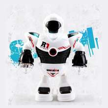 LBLA 2 Colors Electronic Walking Dancing Smart Space Robot Nice Gifts For Childr