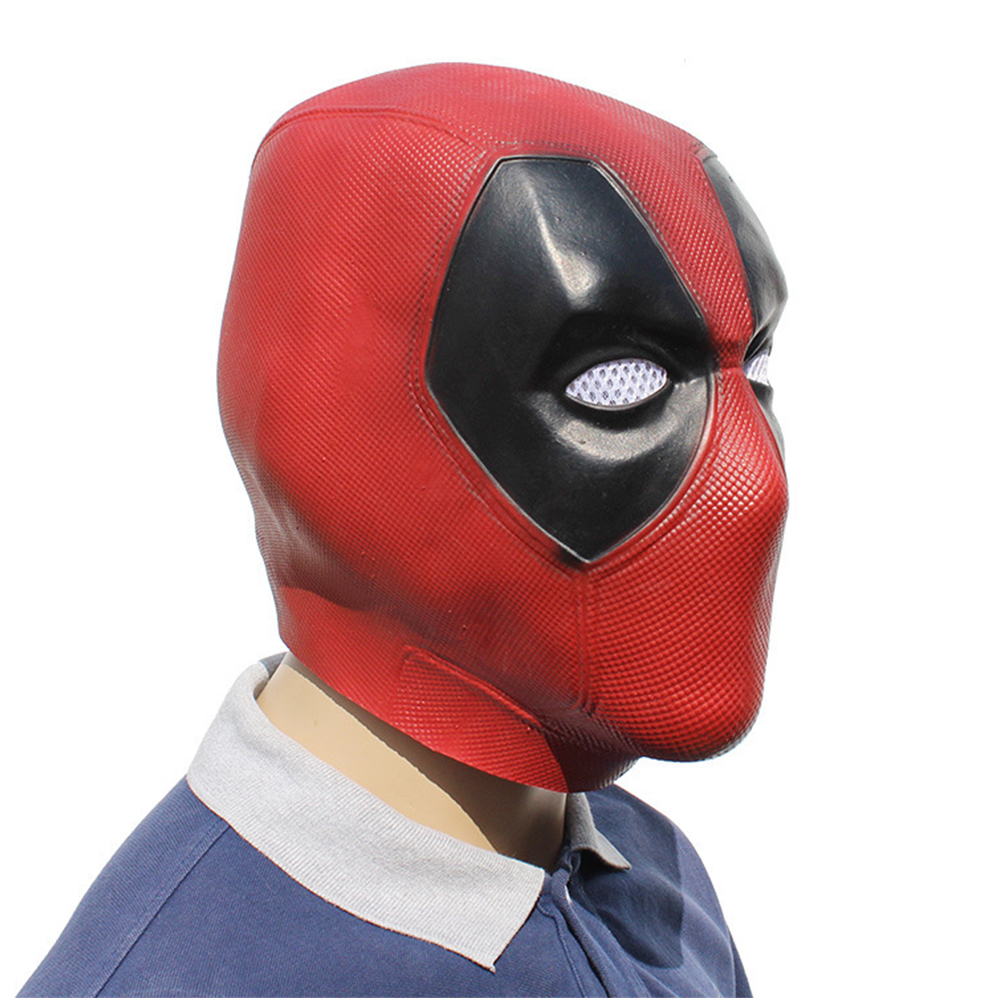 Marvel Deadpool Masks Halloween Cosplay Costume Props Superhero Movie Latex Mask Collectible Toys