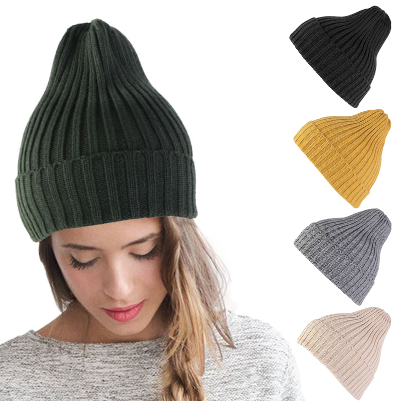 Wool Warm Hat Beanie Winter Hats For Women Cap Girls Korean Style Fashion Bonnet Femme Hiver Woman Accessories Headwear Gifts