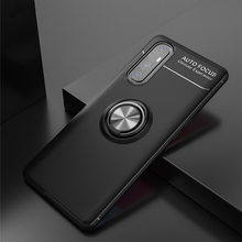 For OPPO Find X2 Neo Case Finger Ring Magnetic Bracket Soft Silicone TPU Back Cover For OPPO Find X2 Lite Business Phone Case cloth finger ring case for oppo find x2 neo find x2 lite phone case soft silicone frame back cover for find x2 pro shockproof